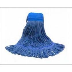 Wet Mop Disinfectant Loop-End Mop Medium Ply4..Blue