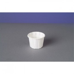 Genpak Squat Paper Portion Cup .75oz White