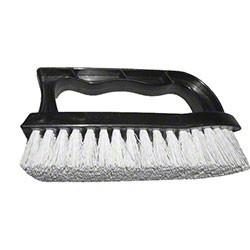 Iron Handle Scrub Brush Color: Black Size:6 Block:Polypropylene Fiber:Polypropylene