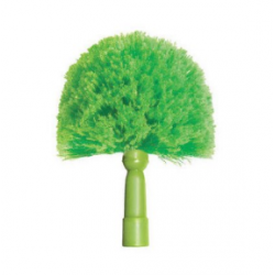 CobWeb Duster Brush. Split-tipped soft poly fibers allow for effective dusting without scratching. Great for dusting ceilings m