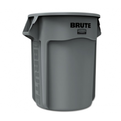Rubbermaid Commercial Brute Round Container 55gal Gray