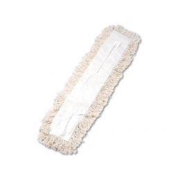 Industrial Dust Mop Head Hygrade Cotton 36w x 5d White