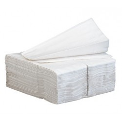 Dinner Napkins 2-Ply 14.25W x 16.25D White