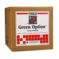 GREEN OPTION FLOOR STRIPPER LIQUID 5 GAL. BOX