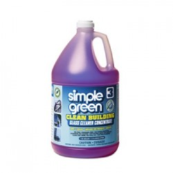 Simple Green Clean Building Glass Cleaner Concentrate Unscented 1gal Bottle