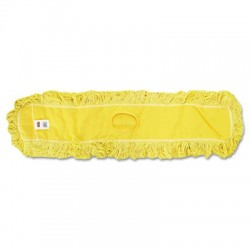 Rubbermaid Commercial Trapper Commercial Dust Mop Looped-end Launderable 5 x 48 Yellow