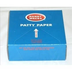 Patty Paper 5.5 inch x 5.5 inch Light Weight Dry Wax