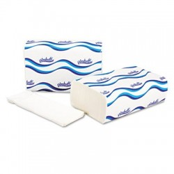 Windsoft Multifold Paper Towels 1-Ply 9 1 5 x 9 2 5 White 250 per Pack