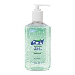 Advanced Instant Hand Sanitizer w Aloe 12oz Pump Bottle