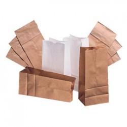 6 Paper Grocery Bag 35lb Kraft Standard 6